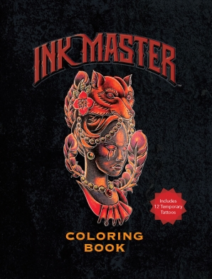 INK MASTER COLORING BOOK Paperback  by MASTER, INK