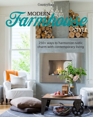 MODERN FARMHOUSE STYLE Hardcover  by LIVING THE COUNTRY LIFE,