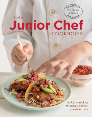 JUNIOR CHEF COOKBOOK Hardcover  by WILLIAMS SONOMA TEST KITCHEN