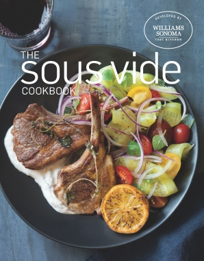SOUS VIDE COOKBOOK Hardcover  by Test Kitchen, WILLIAMS-SONOMA