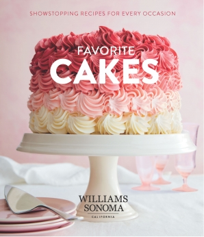 FAVORITE CAKES Hardcover  by Test Kitchen, WILLIAMS-SONOMA